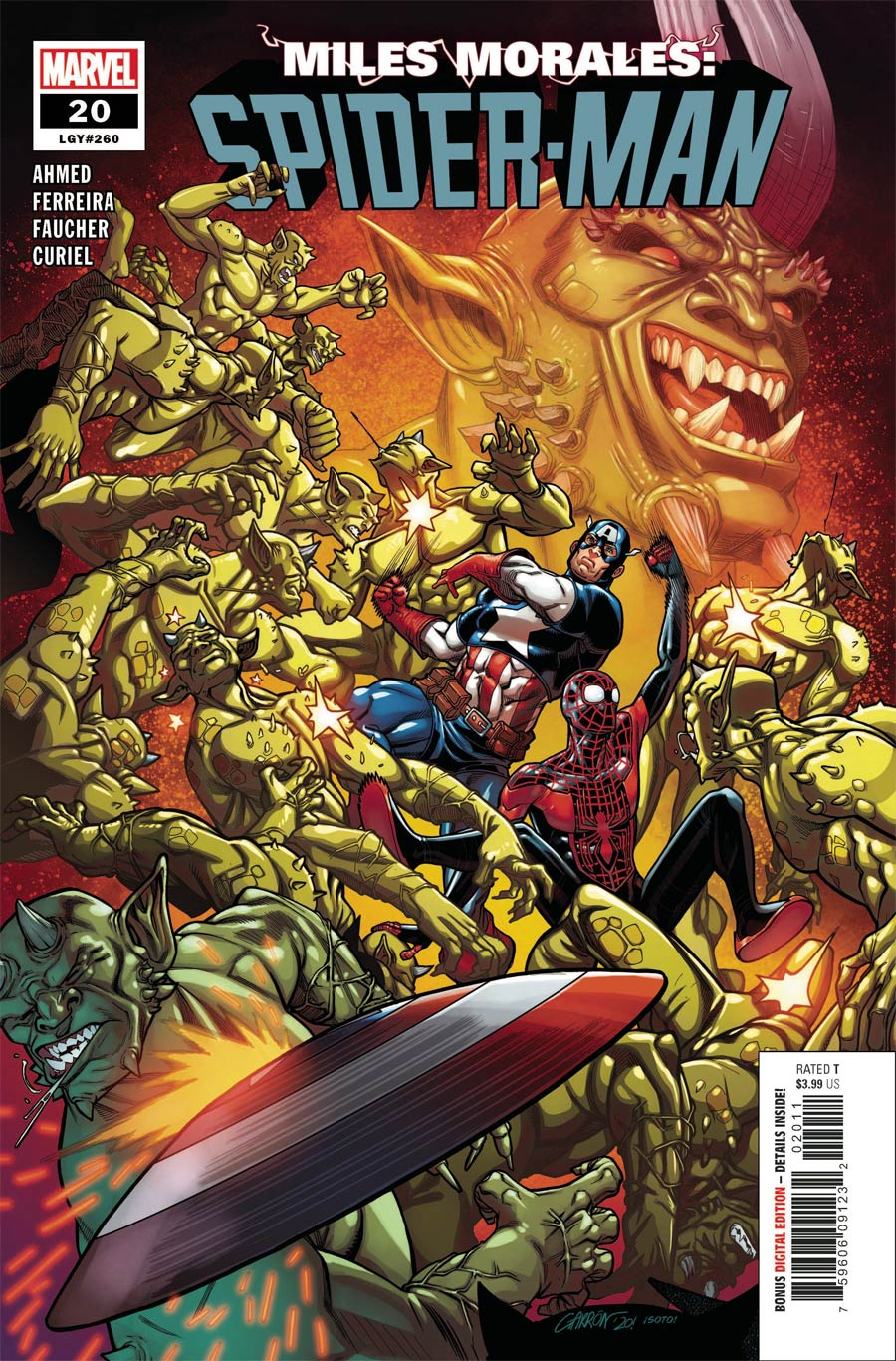 Miles Morales Spider-Man #20 Cover A Regular Javier Garron Cover