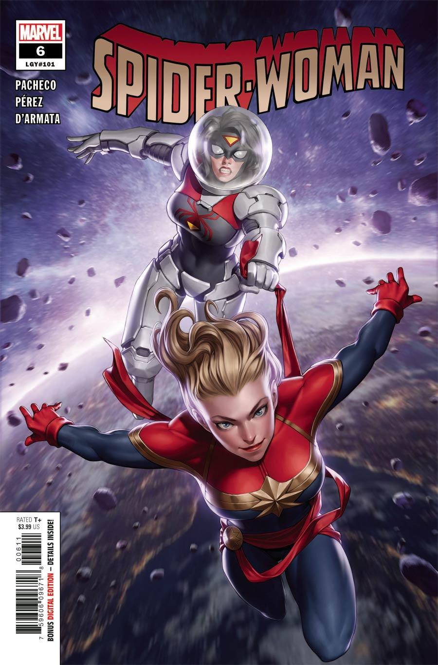 Spider-Woman Vol 7 #6 Cover A Regular Junggeun Yoon Cover