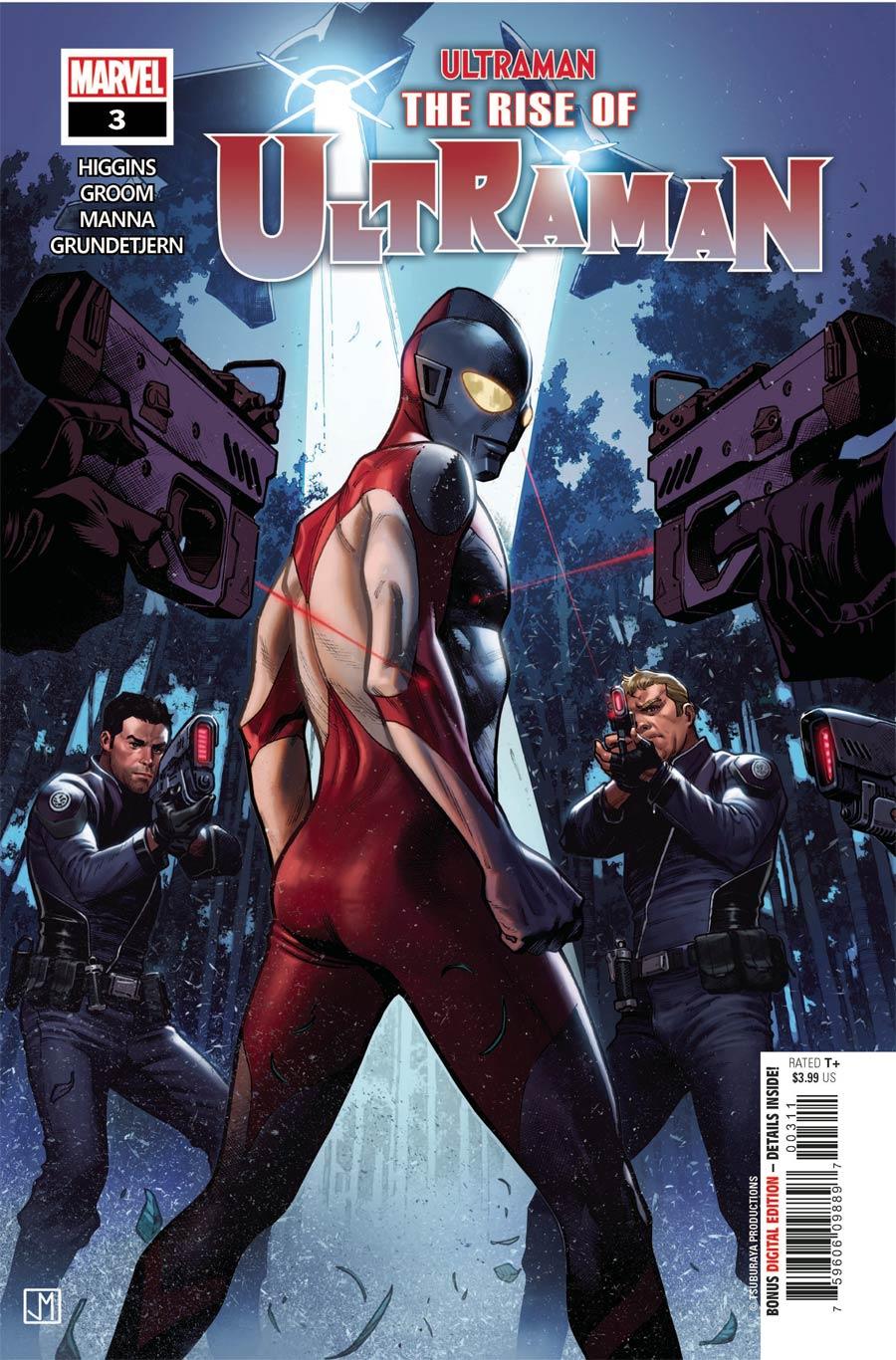 Ultraman Rise Of Ultraman #3 Cover A Regular Jorge Molina Cover