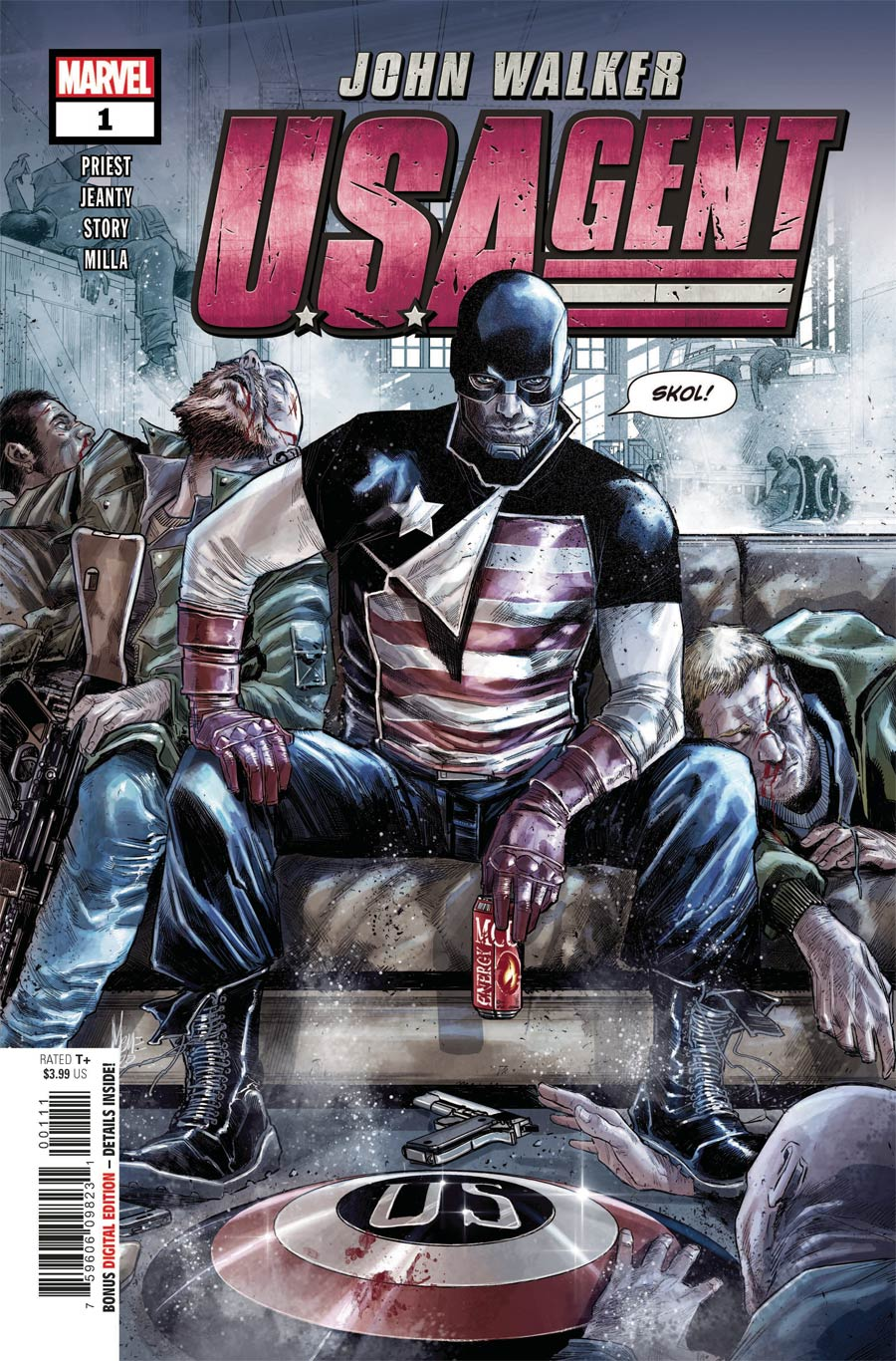 U.S.Agent Vol 3 #1 Cover A Regular Marco Checchetto Cover