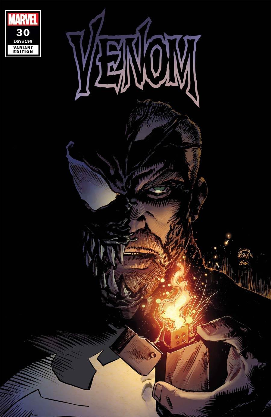 Venom Vol 4 #30 Cover B Variant Ryan Stegman Cover