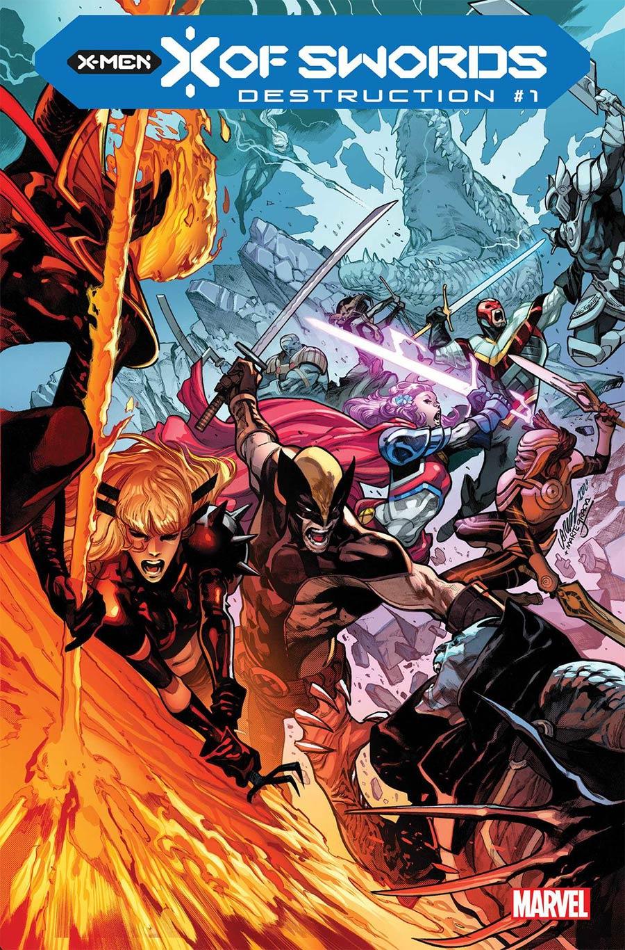 X Of Swords Destruction #1 Cover A Regular Pepe Larraz Cover (X Of Swords Part 22)