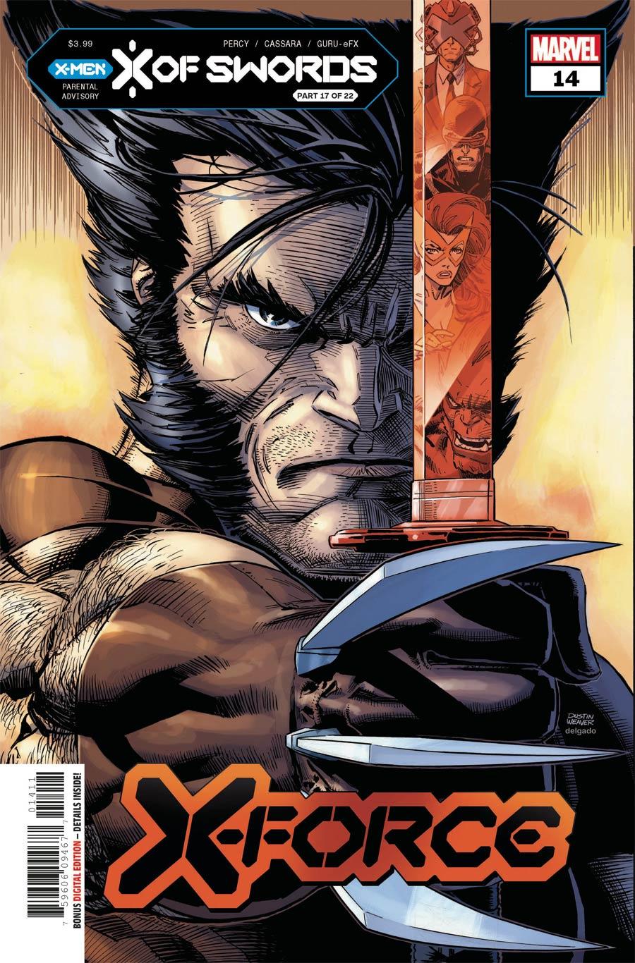 X-Force Vol 6 #14 Cover A Regular Dustin Weaver Cover (X Of Swords Part 17)