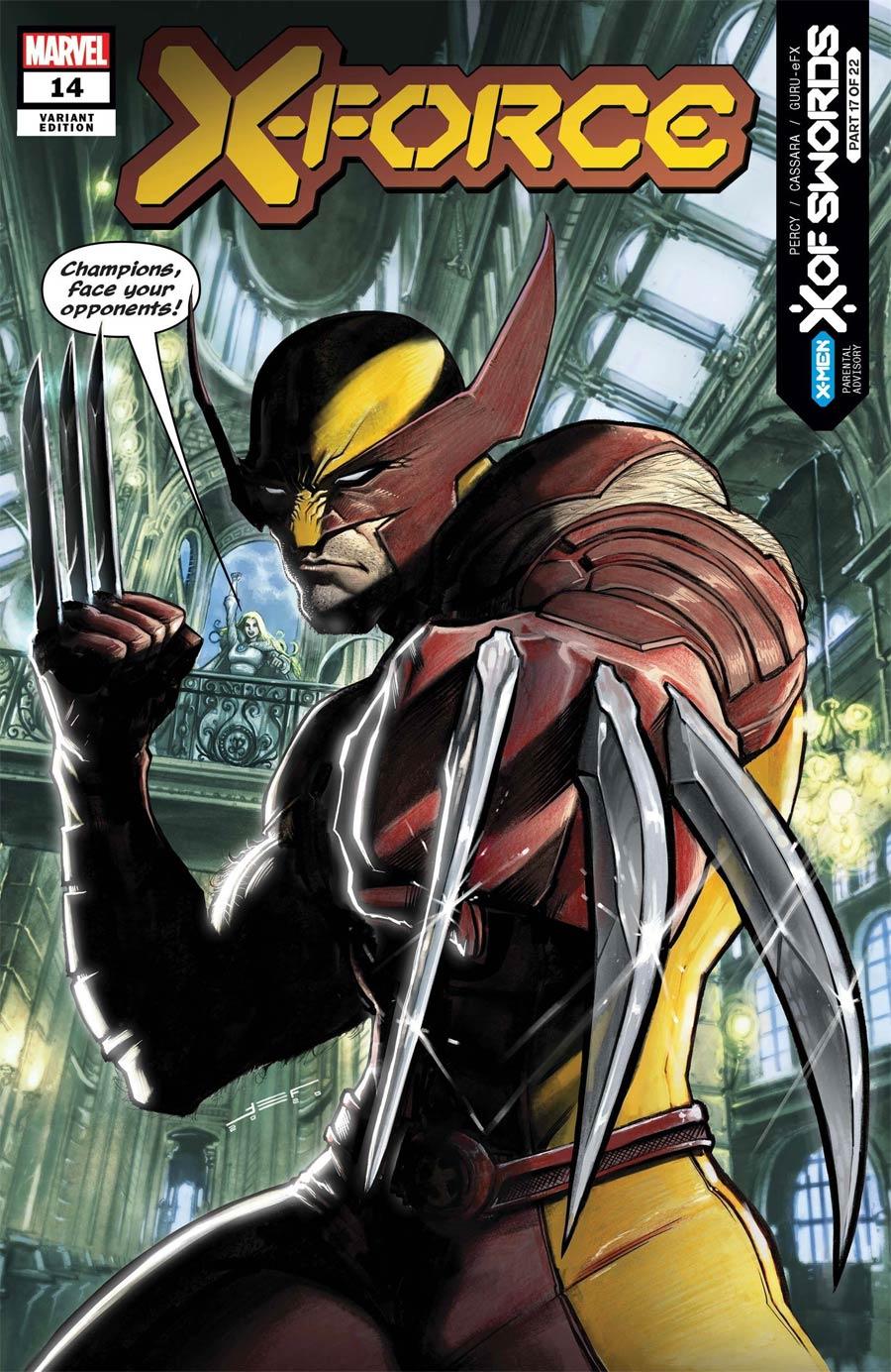X-Force Vol 6 #14 Cover B Variant Juan Ferreyra Cover (X Of Swords Part 17)