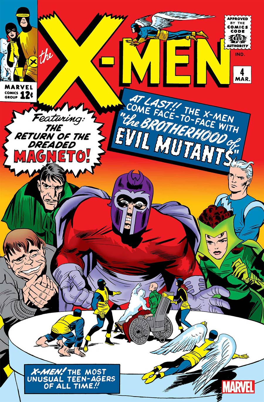X-Men Vol 1 #4 Cover B Facsimile Edition