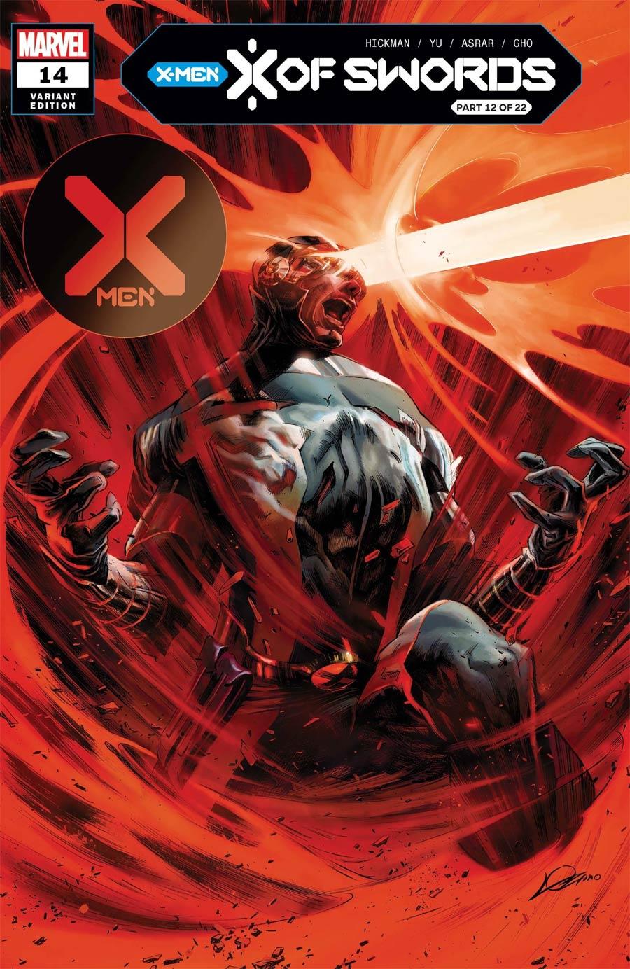 X-Men Vol 5 #14 Cover B Variant Alexander Lozano Cover (X Of Swords Part 12)