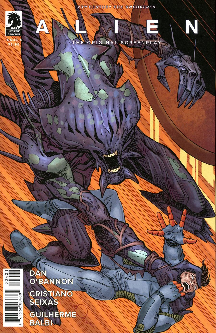 Alien Original Screenplay #4 Cover B Variant Walter Simonson & Dave Stewart Cover