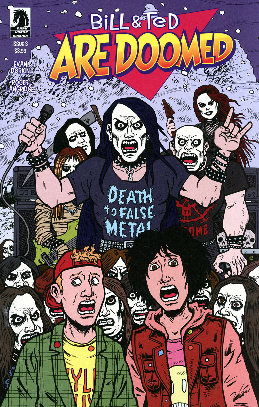 Bill & Ted Are Doomed #3 Cover A Regular Evan Dorkin & Sarah Dyer Cover