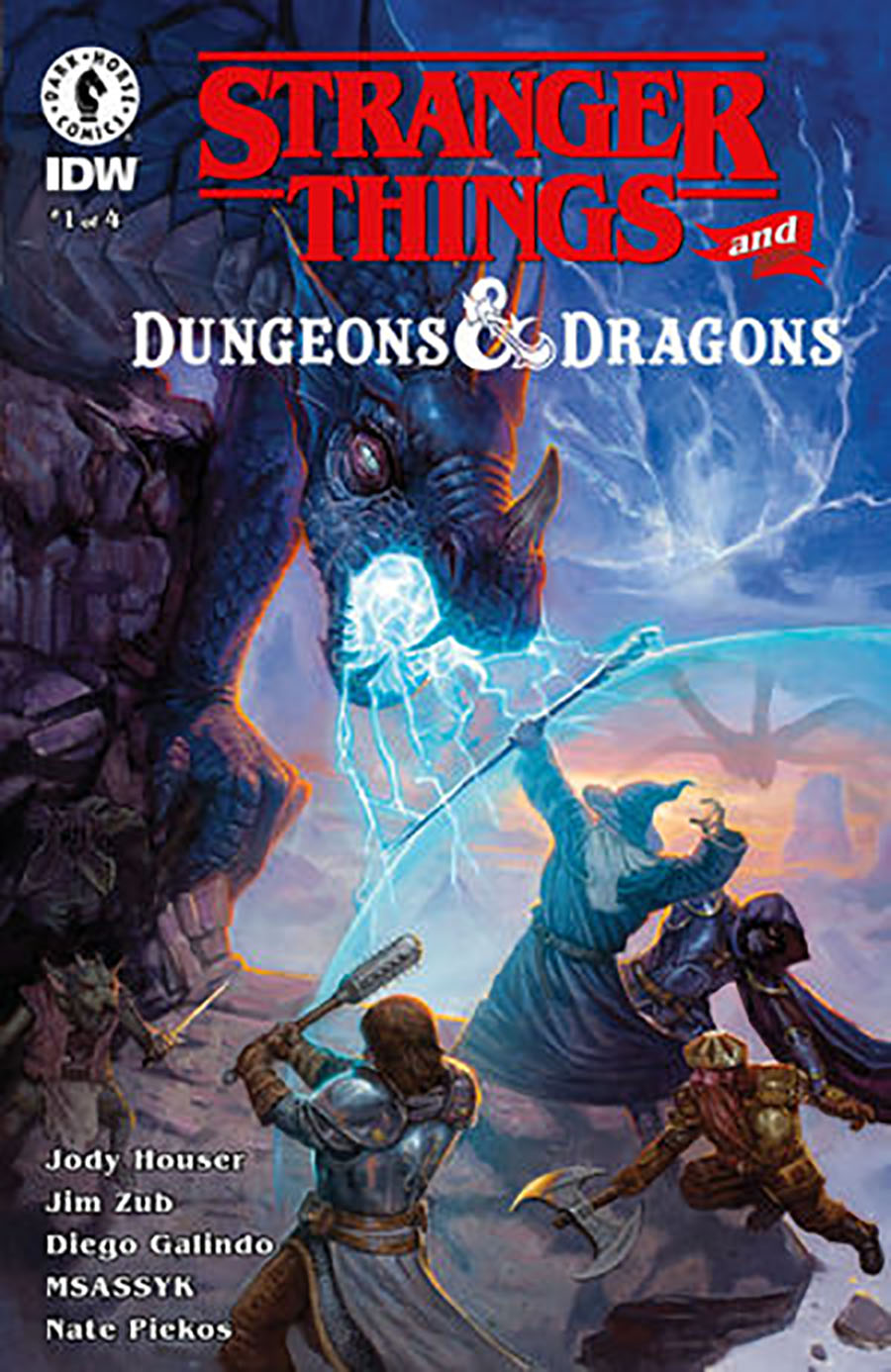 Stranger Things And Dungeons & Dragons #1 Cover A Regular EM Gist Cover