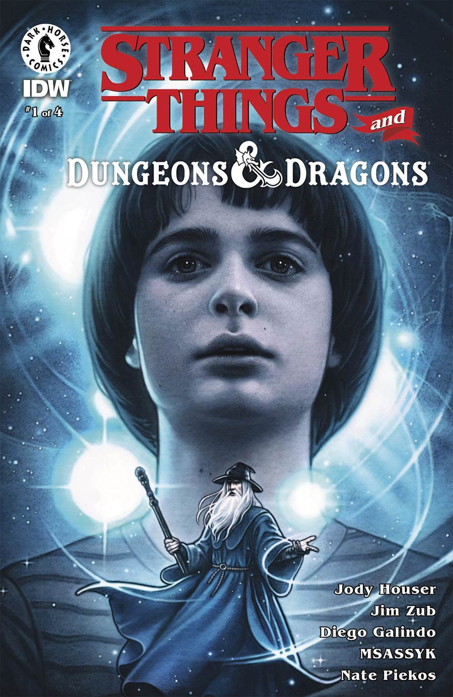 Stranger Things And Dungeons & Dragons #1 Cover B Variant Anna Dittmann Cover