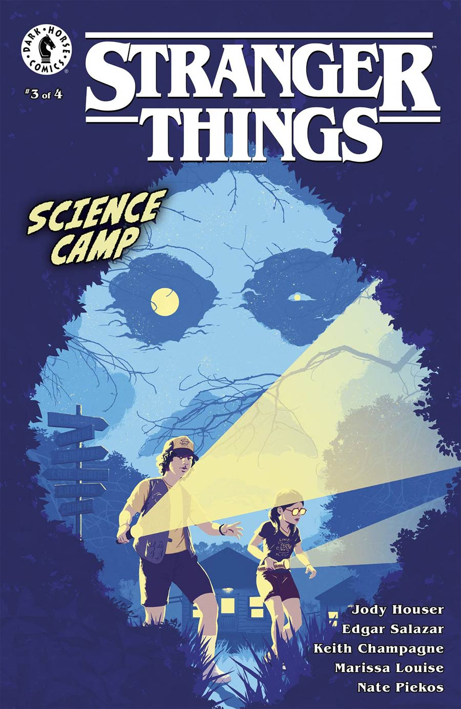 Stranger Things Science Camp #3 Cover B Variant Raul Allen Cover