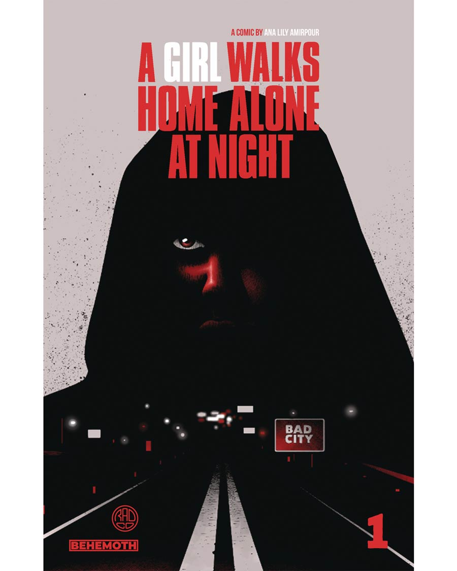 A Girl Walks Home Alone At Night #1 Cover B Limited Edition Niko Walter Variant Cover