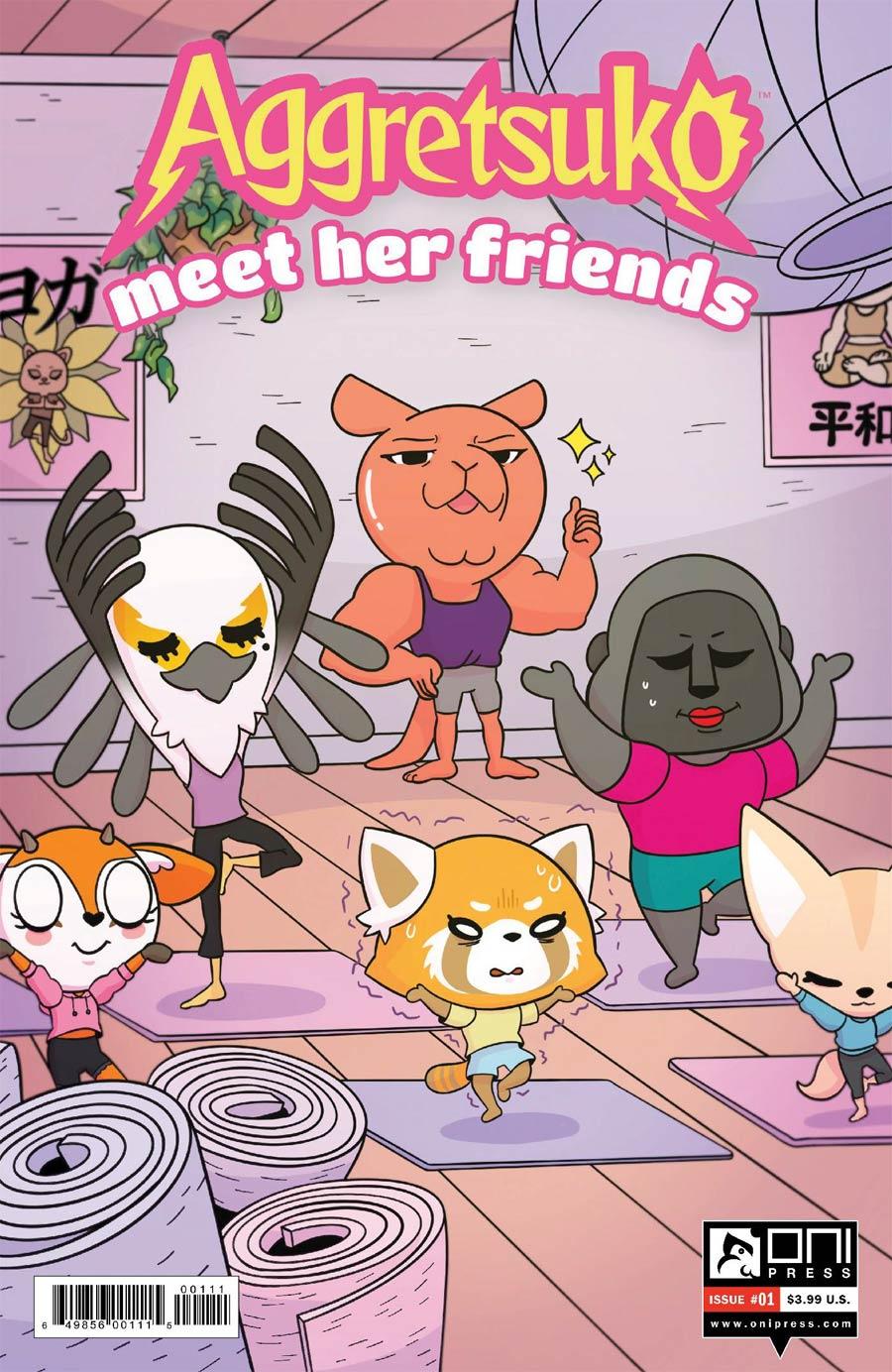 Aggretsuko Meet Her Friends #1 Cover A Regular Lisa DuBois Cover