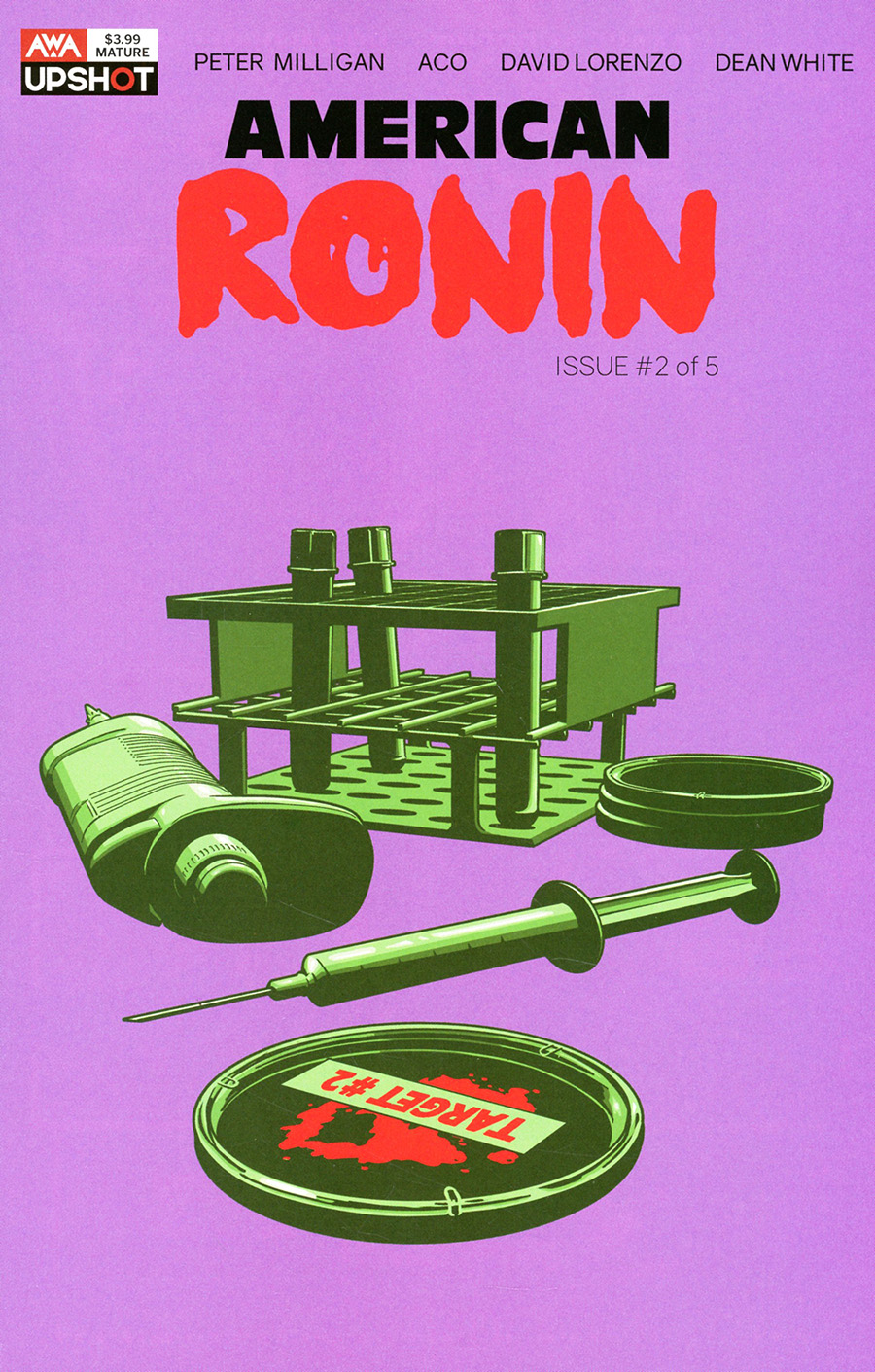 American Ronin #2 Cover A Regular ACO Cover
