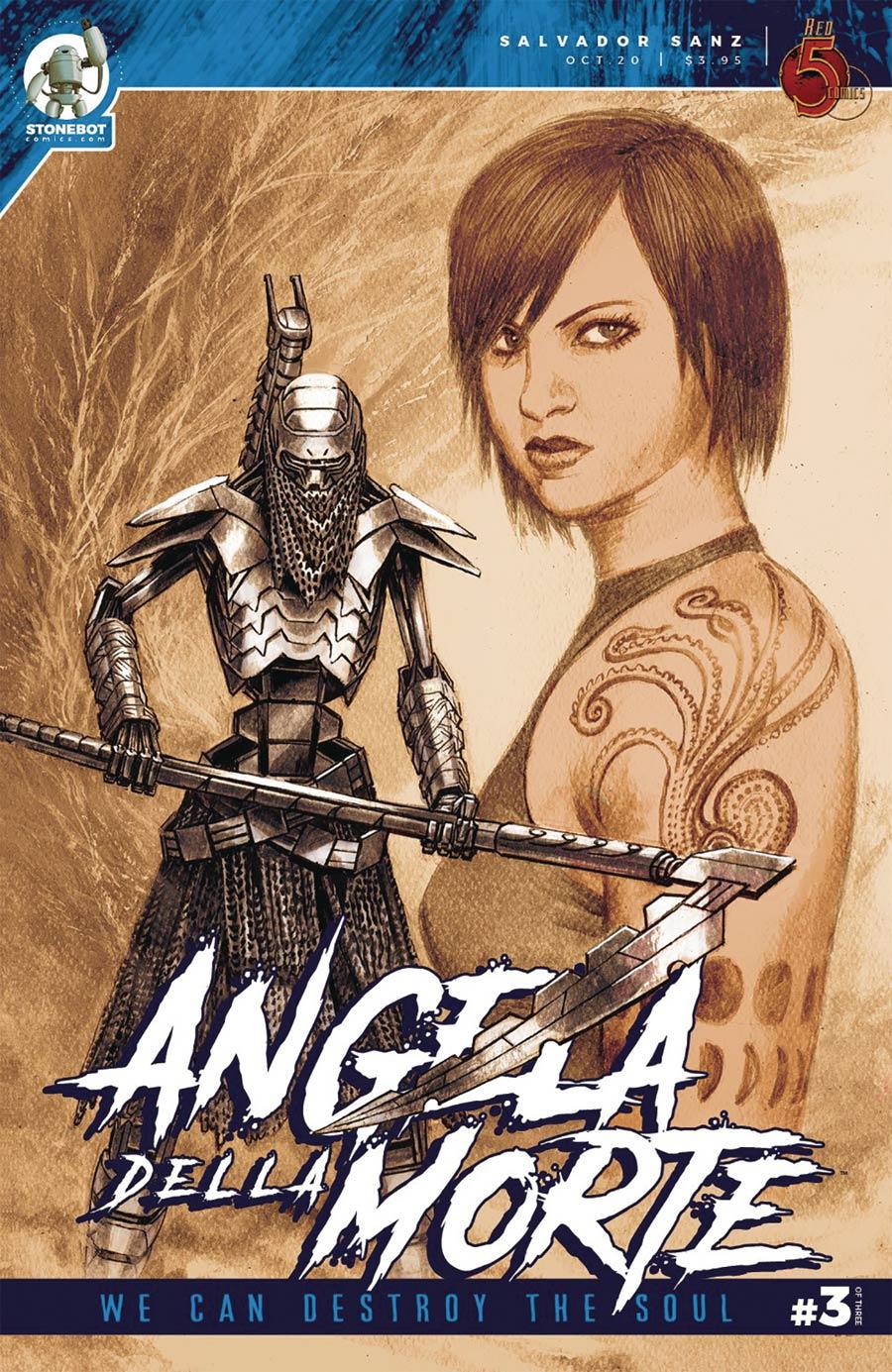Angela Della Morte Vol 2 #3