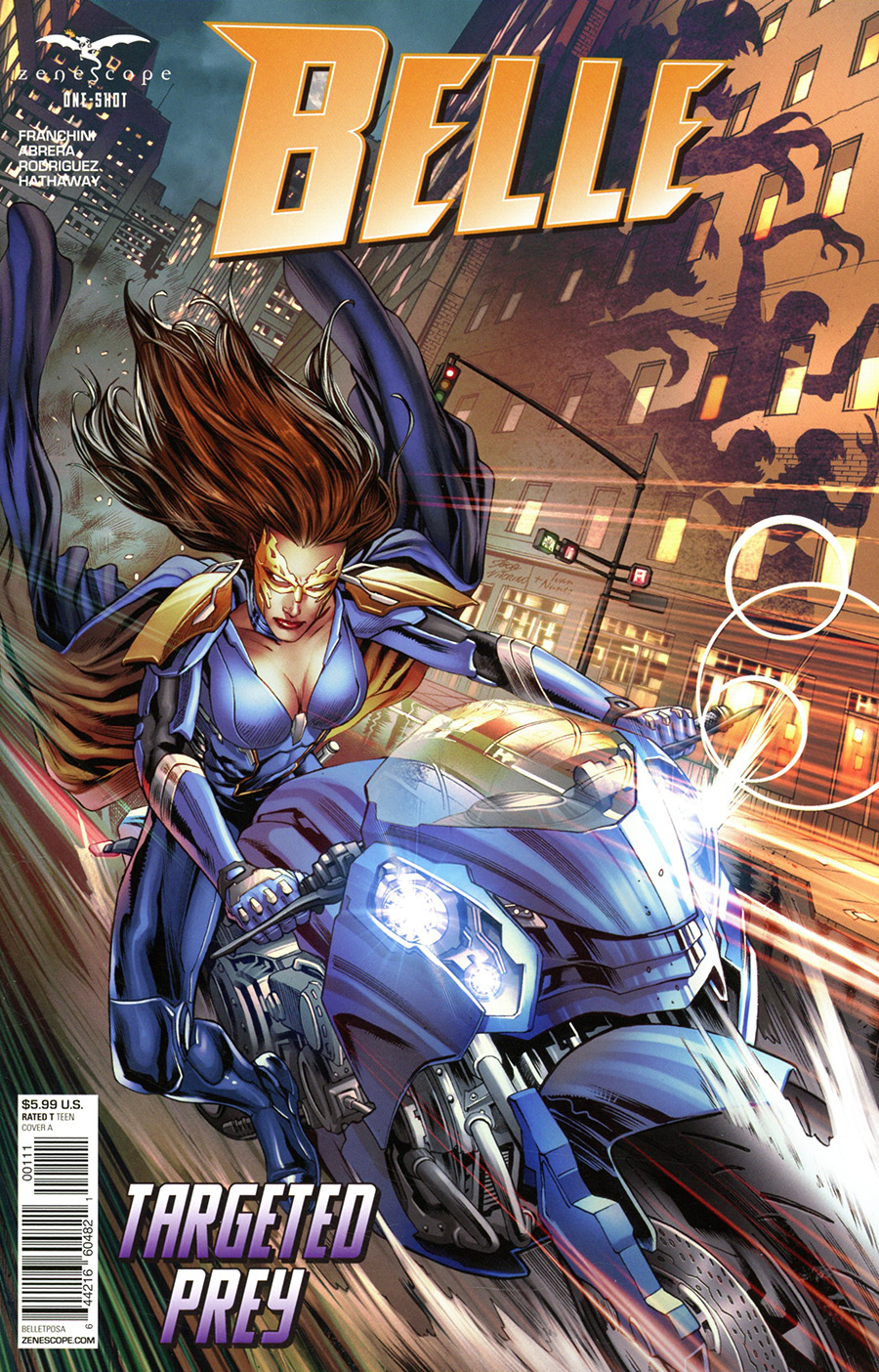 Grimm Fairy Tales Presents Belle Targeted Prey One Shot Cover A Igor Vitorino