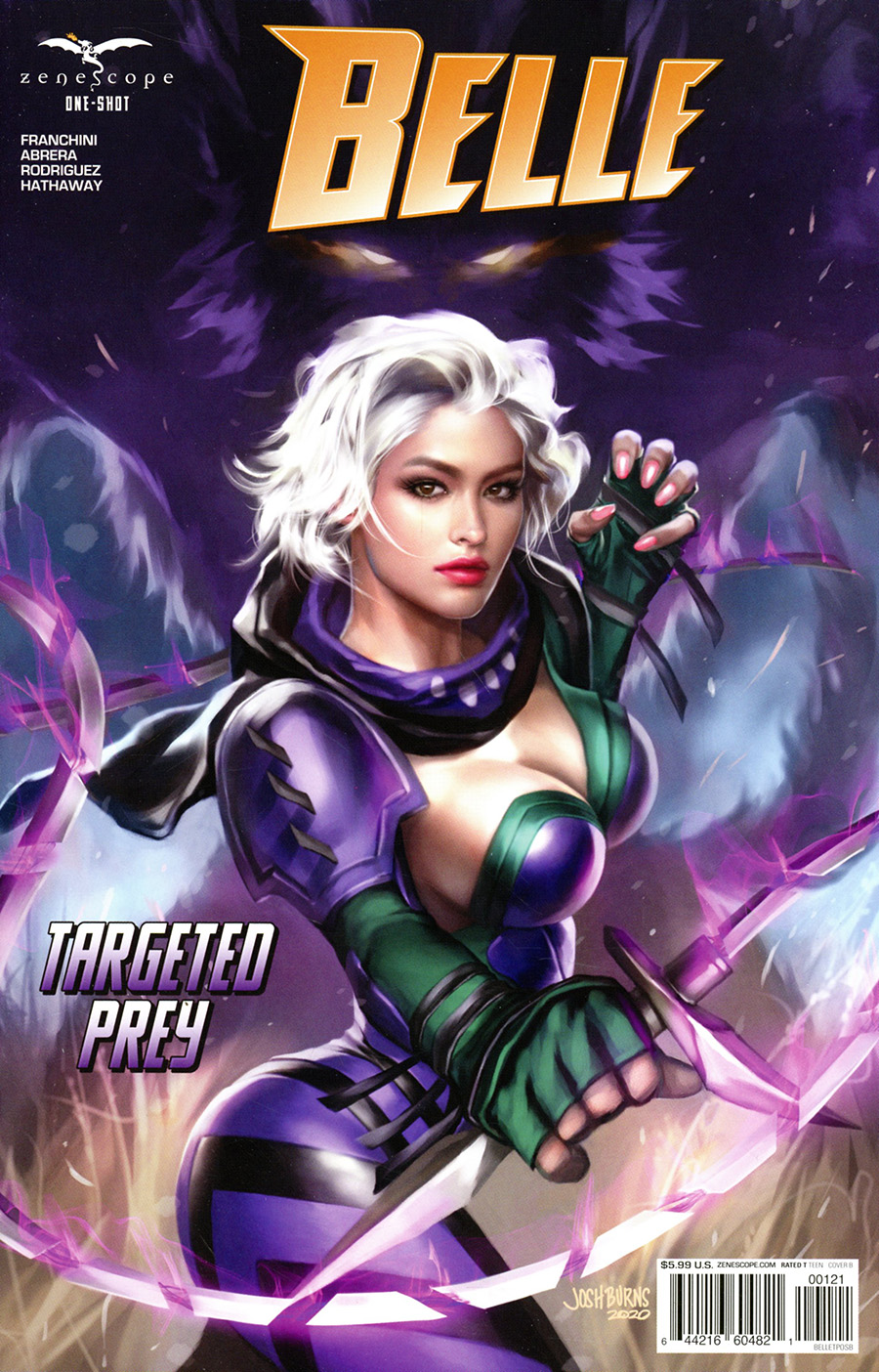 Grimm Fairy Tales Presents Belle Targeted Prey One Shot Cover B Josh Burns