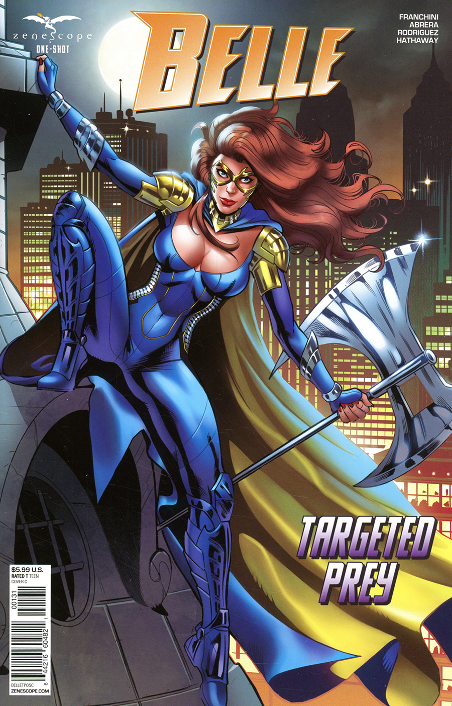 Grimm Fairy Tales Presents Belle Targeted Prey One Shot Cover C Maria Laura Sanapo