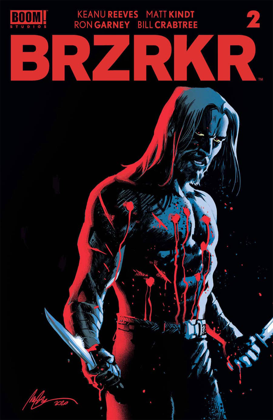 BRZRKR (Berzerker) #2 Cover B Variant Rafael Albuquerque Cover