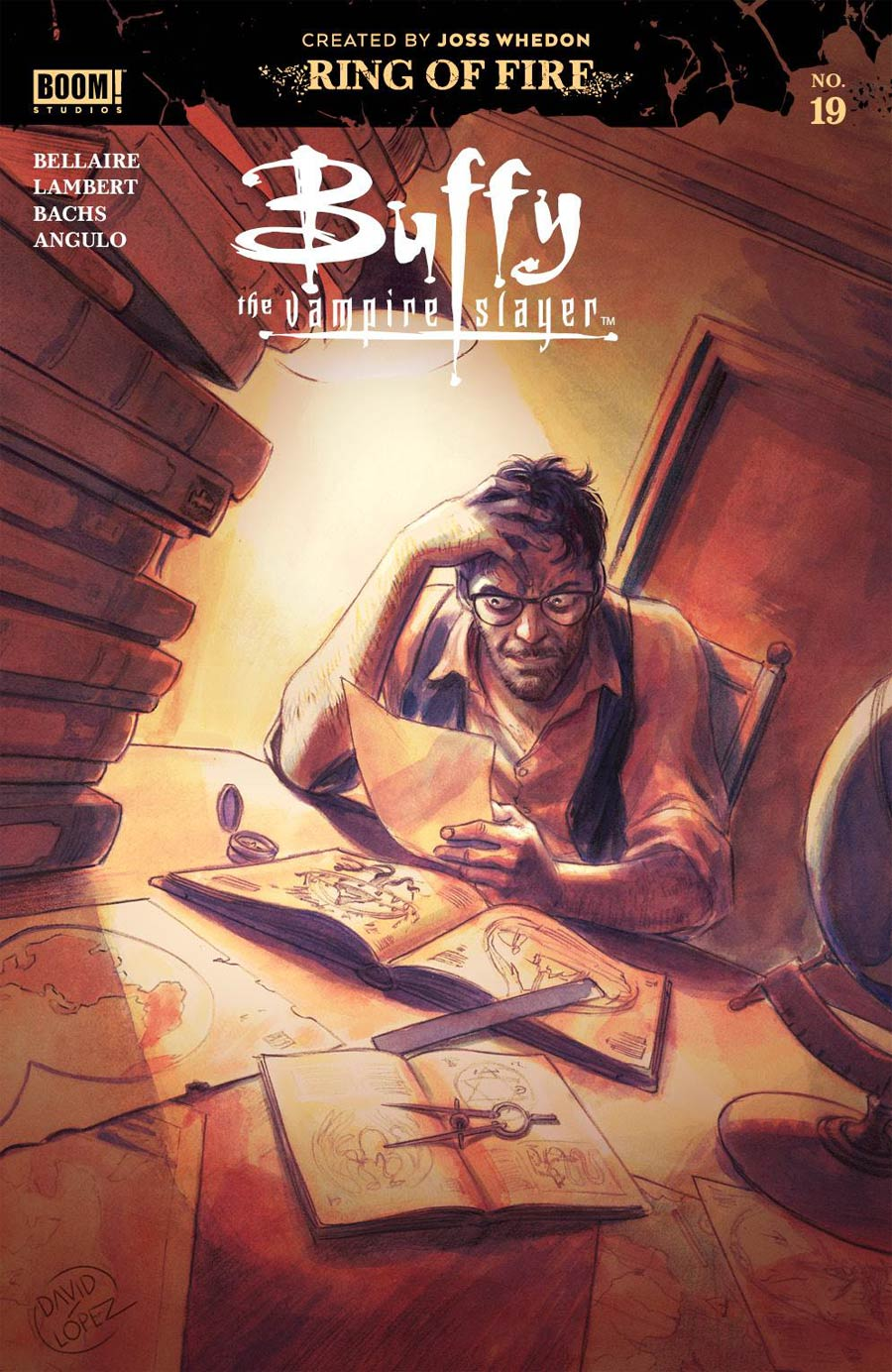 Buffy The Vampire Slayer Vol 2 #19 Cover A Regular David Lopez Cover