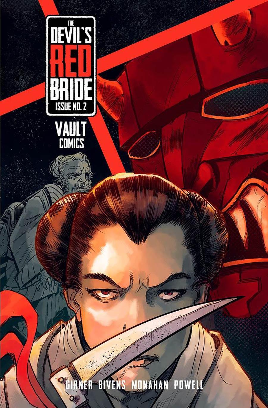 Devils Red Bride #2 Cover A Regular John Bivens Cover
