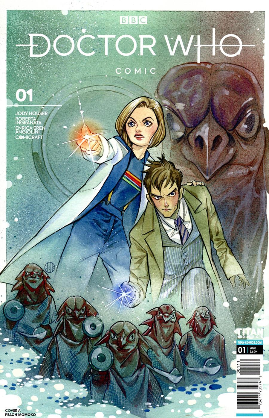Doctor Who Comic #1 Cover A Regular Peach Momoko Cover