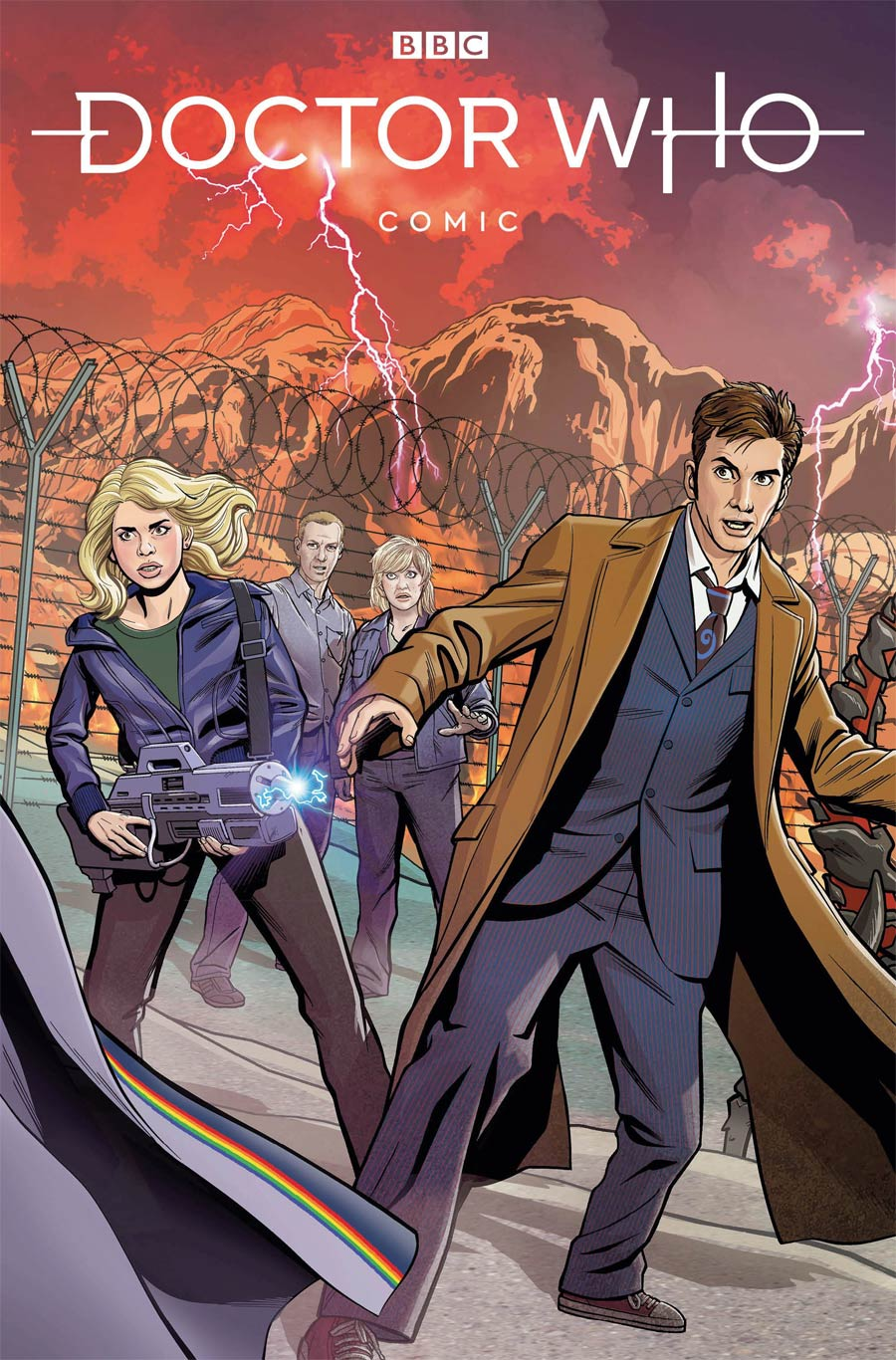 Doctor Who Comic #1 Cover C Variant Christopher Jones Cover