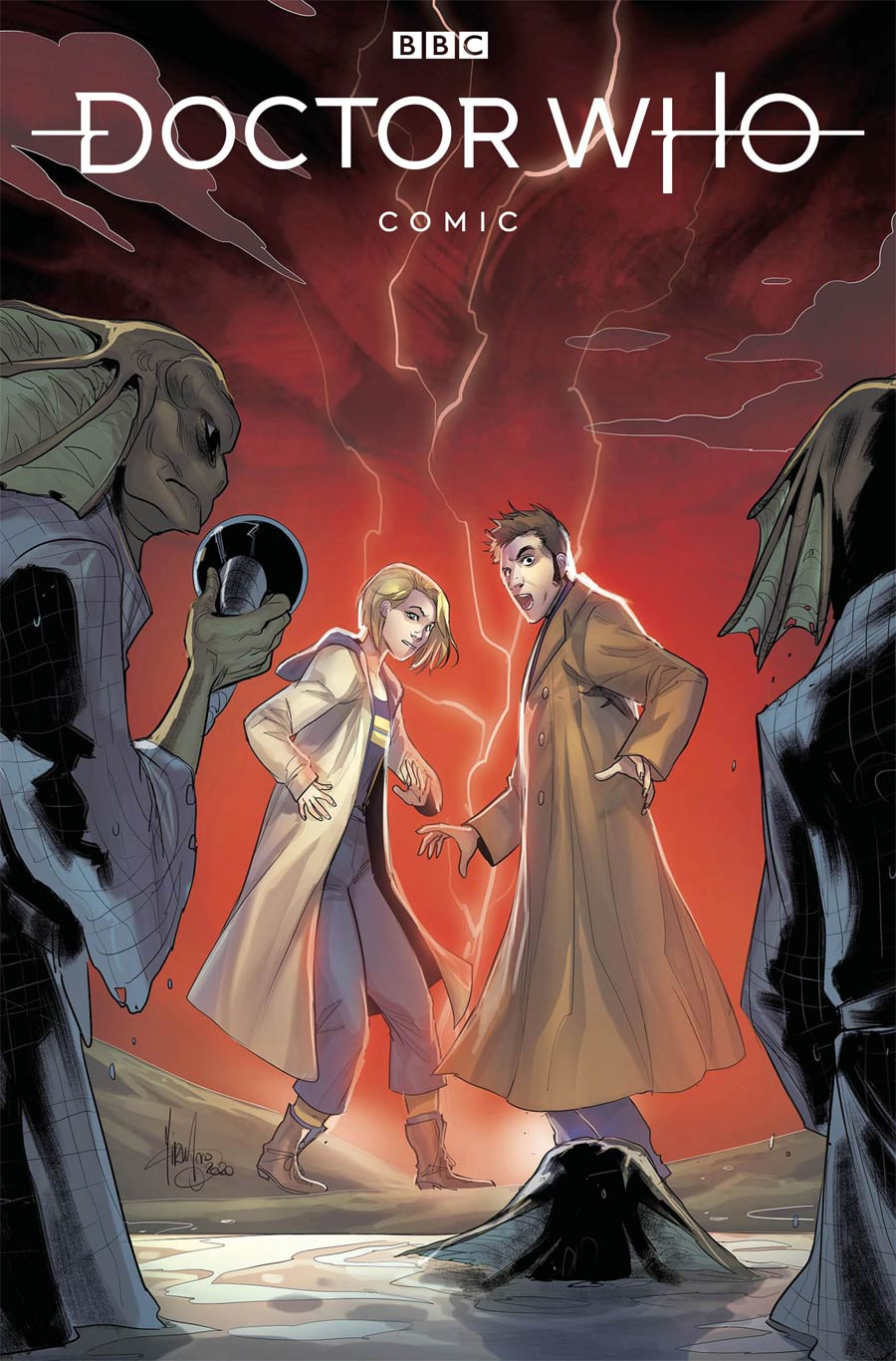 Doctor Who Comic #1 Cover D Variant Mirka Andolfo Cover