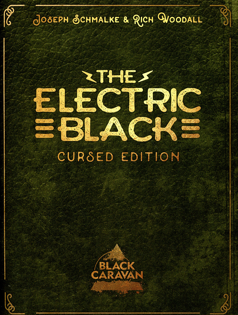 Electric Black Cursed Edition Magazine Format