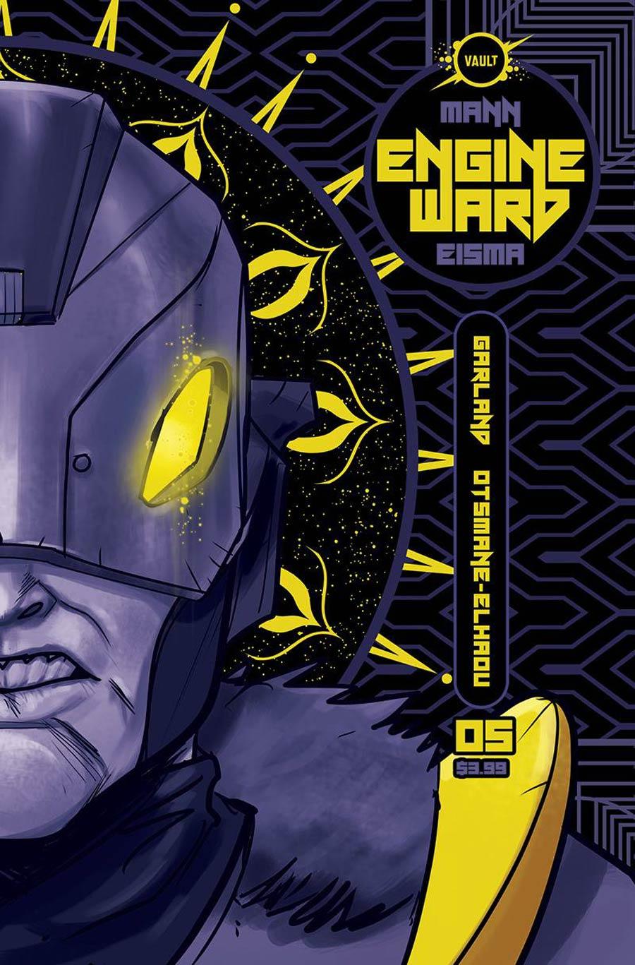 Engineward #5 Cover A Regular Joe Eisma Cover