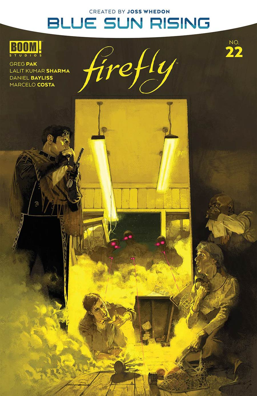 Firefly #22 Cover A Regular Marc Aspinall Cover