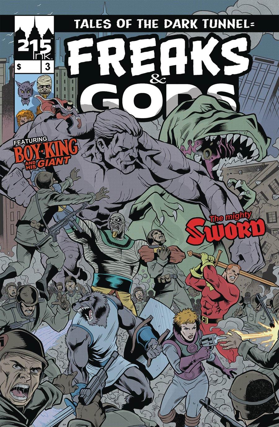 Freaks & Gods #3
