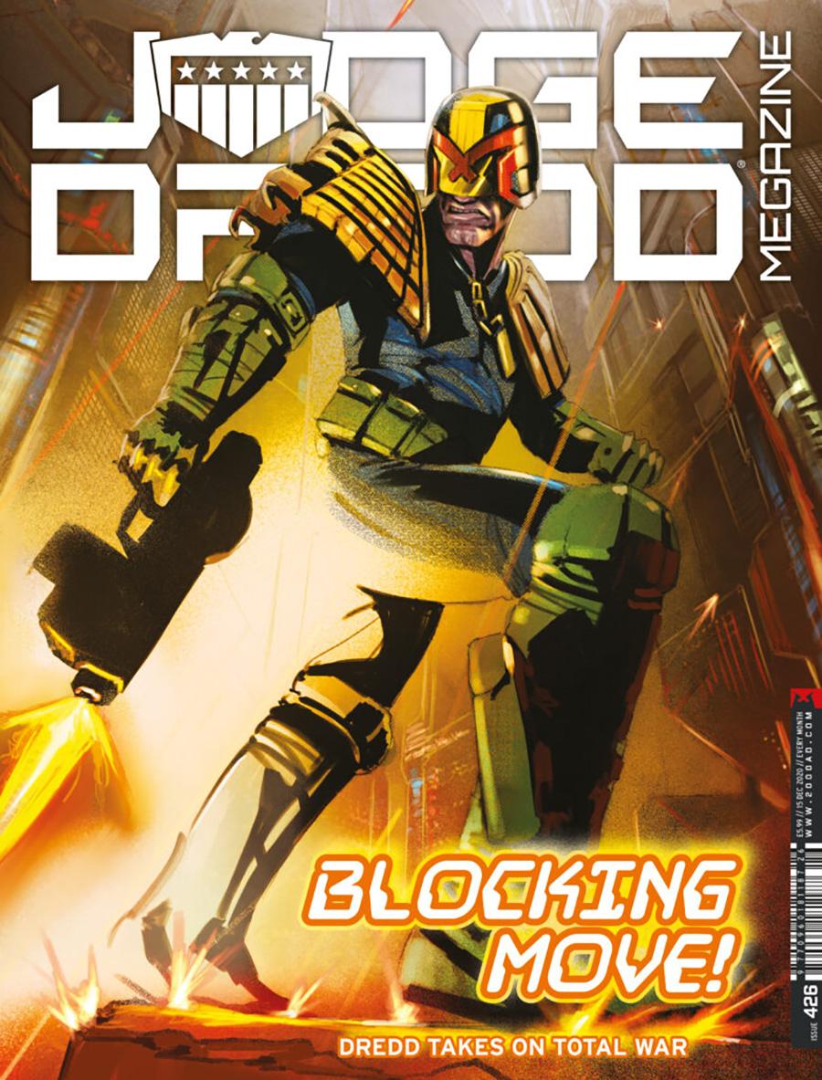 Judge Dredd Megazine #426