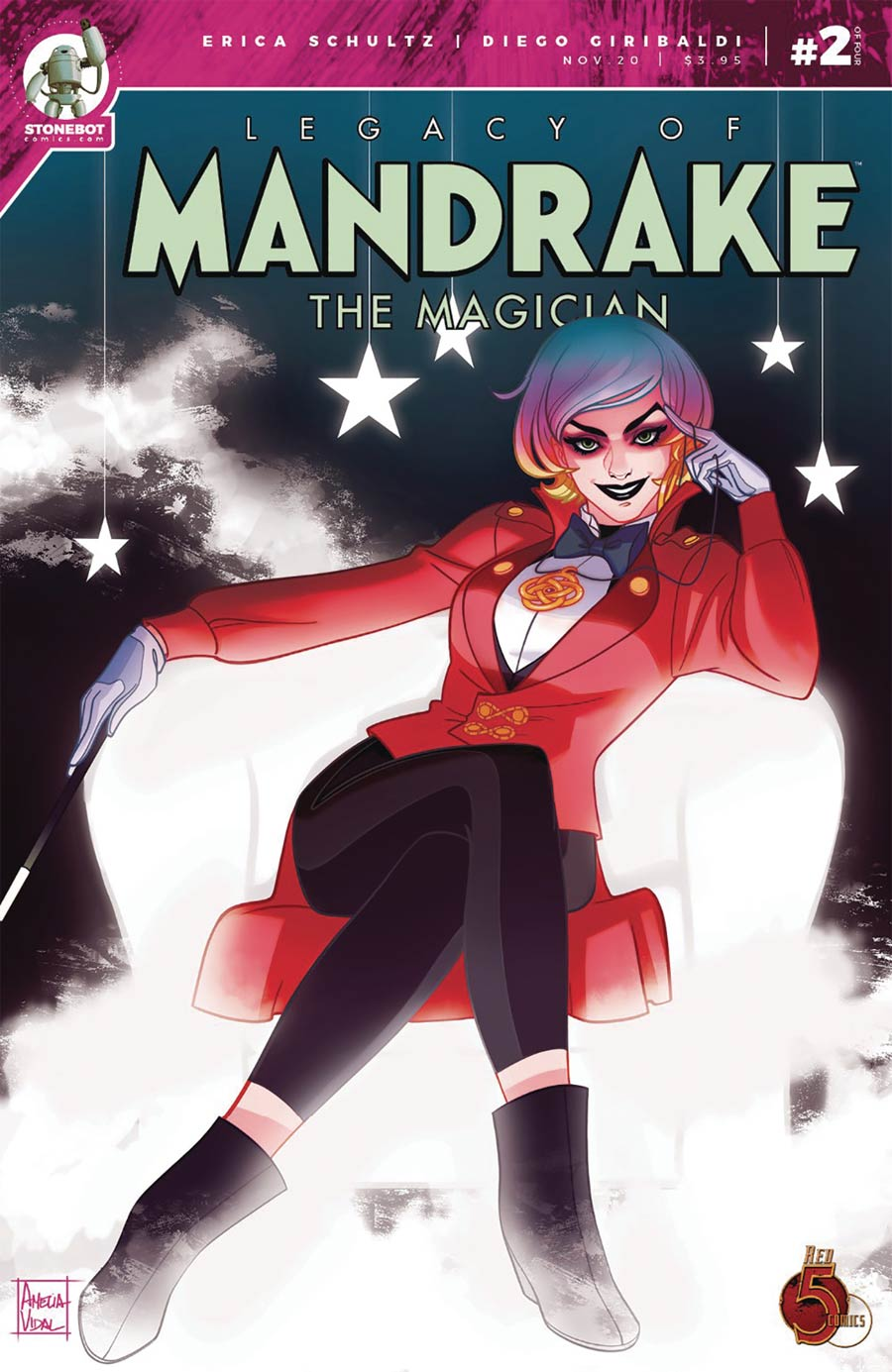 Legacy Of Mandrake The Magician #2