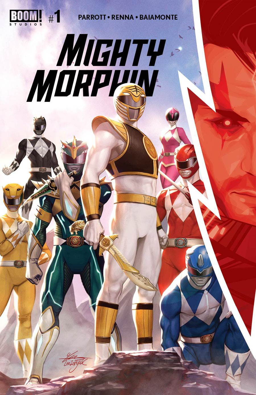 Mighty Morphin #1 Cover A Regular InHyuk Lee Cover