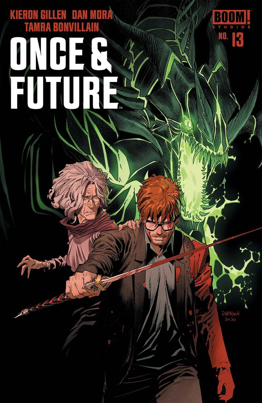 Once & Future #13 Cover A Regular Dan Mora Cover