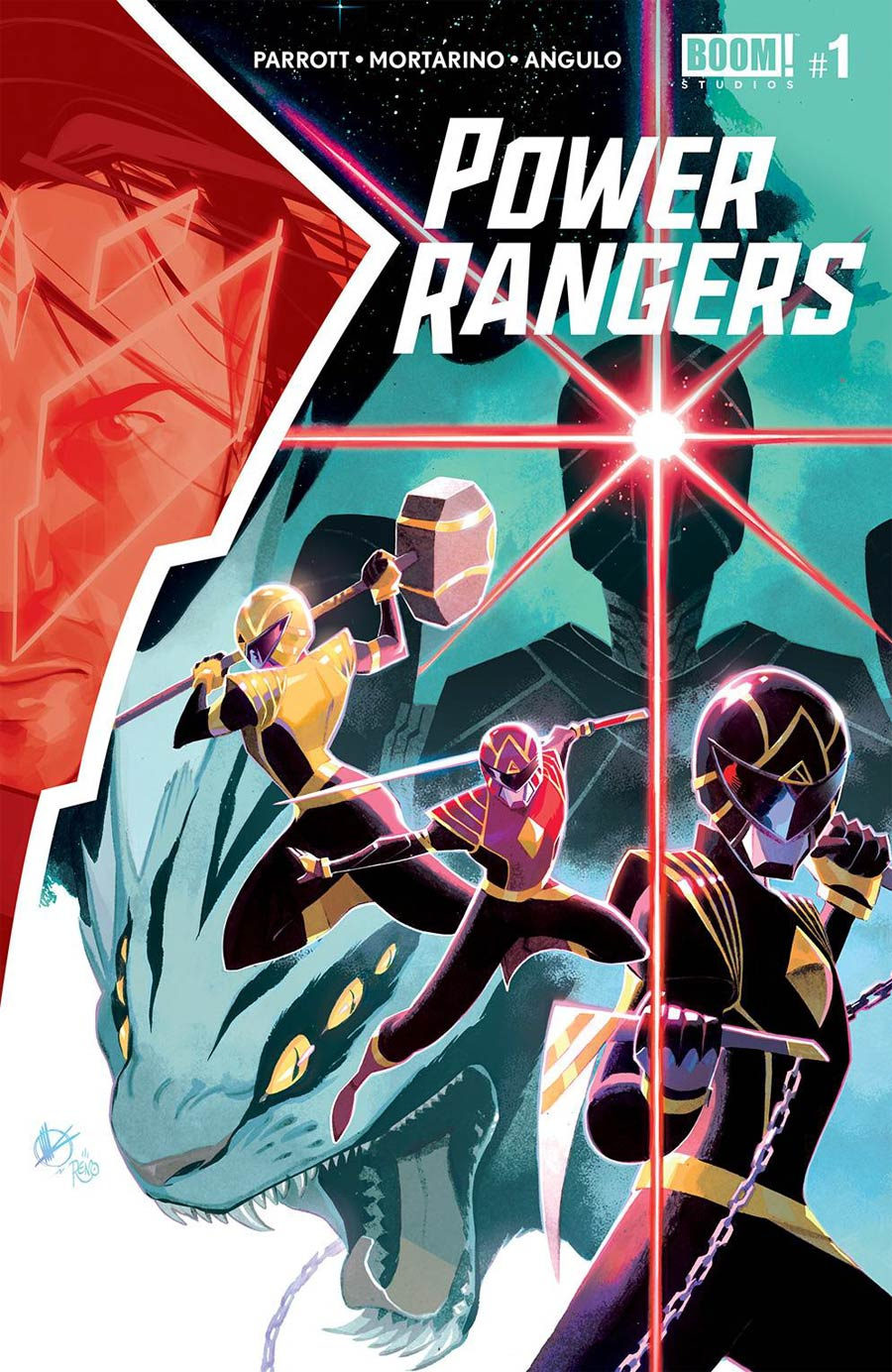 Power Rangers #1 Cover A 1st Ptg Regular Matteo Scalera Cover