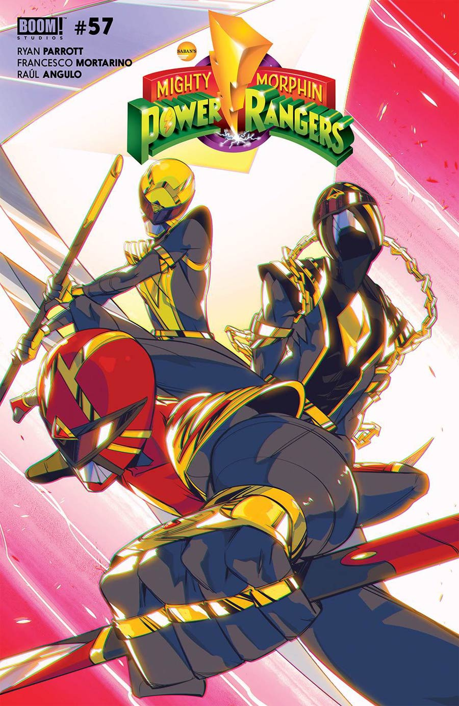 Power Rangers #1 Cover B Variant Daniele di Nicuolo Legacy Cover