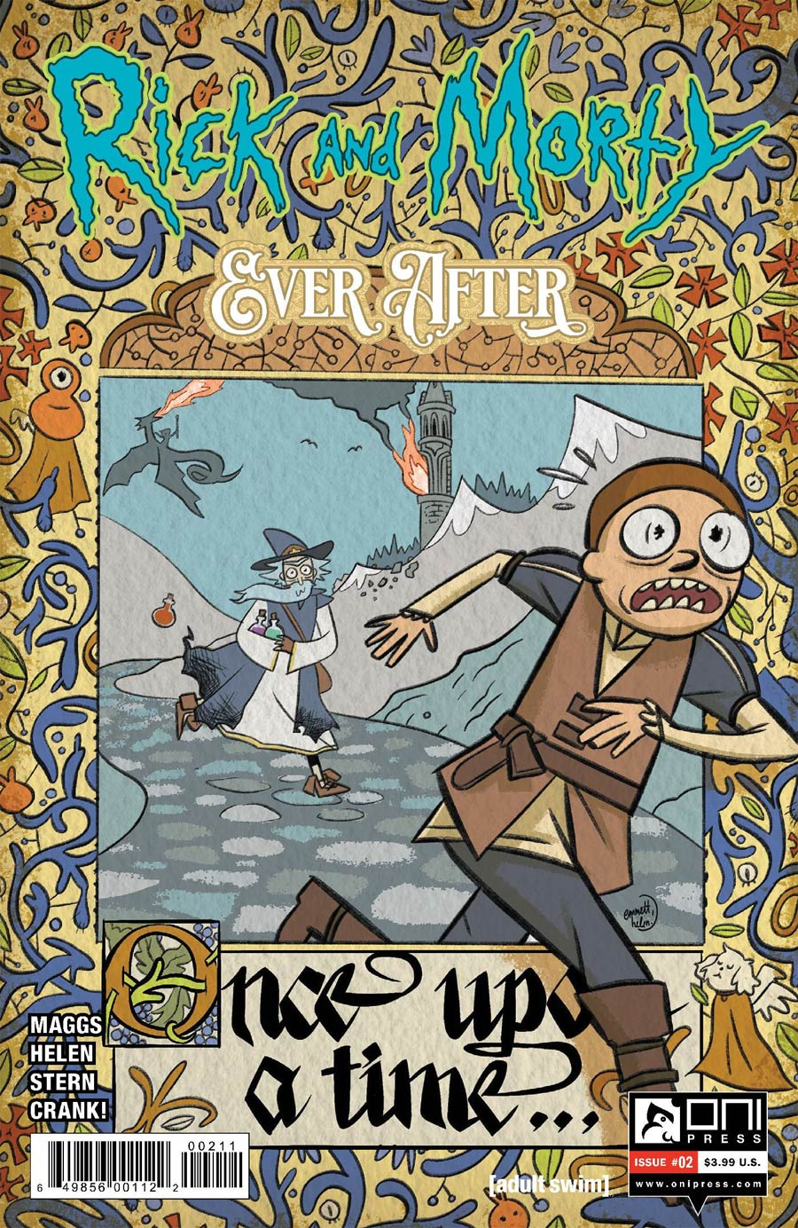 Rick And Morty Ever After #2 Cover A Regular Emmett Helen Cover