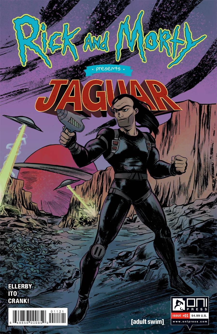 Rick And Morty Presents Jaguar #1 Cover B Variant Soo Lee Cover