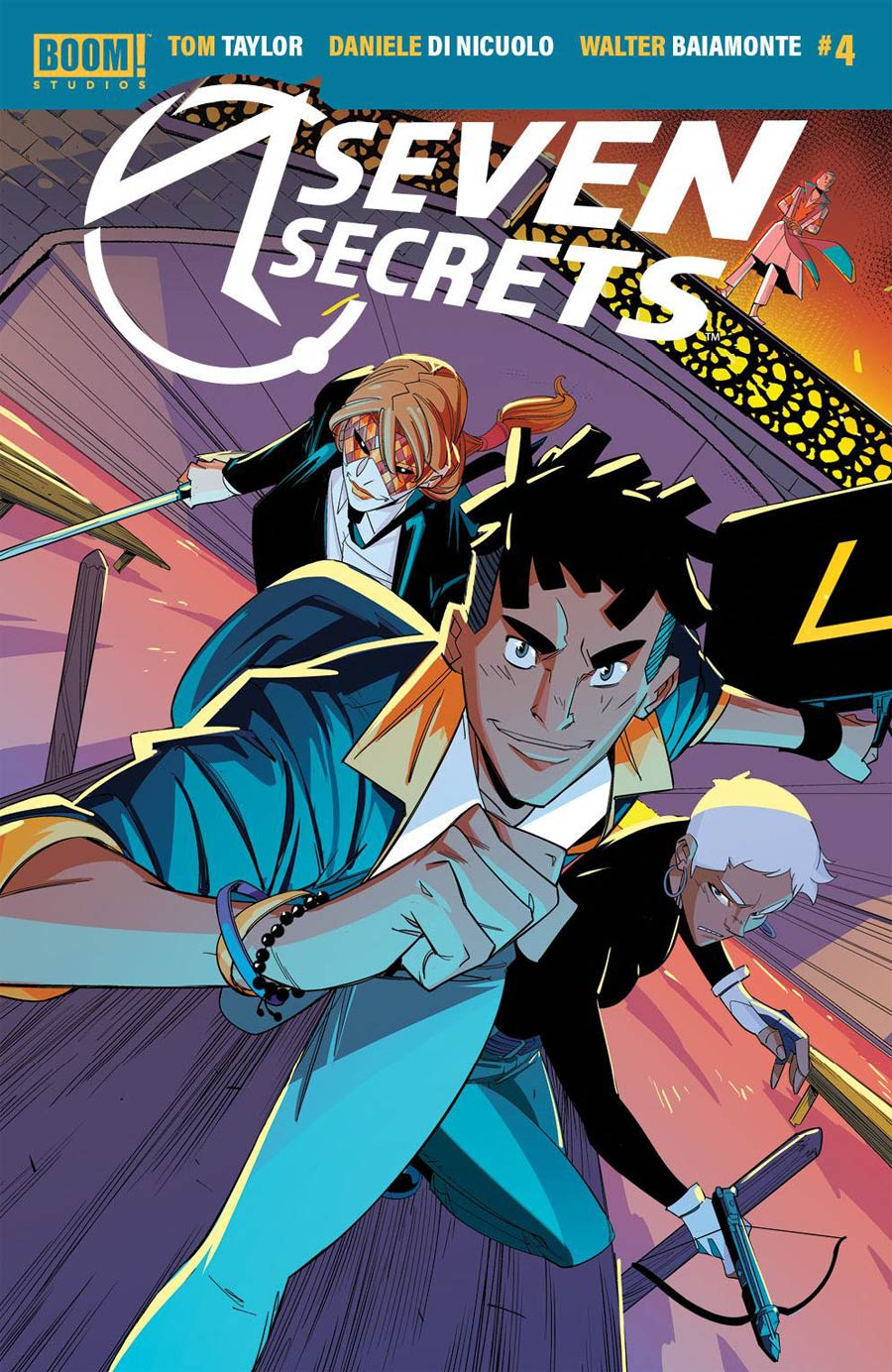 Seven Secrets #4 Cover A Regular Daniele di Nicuolo Cover