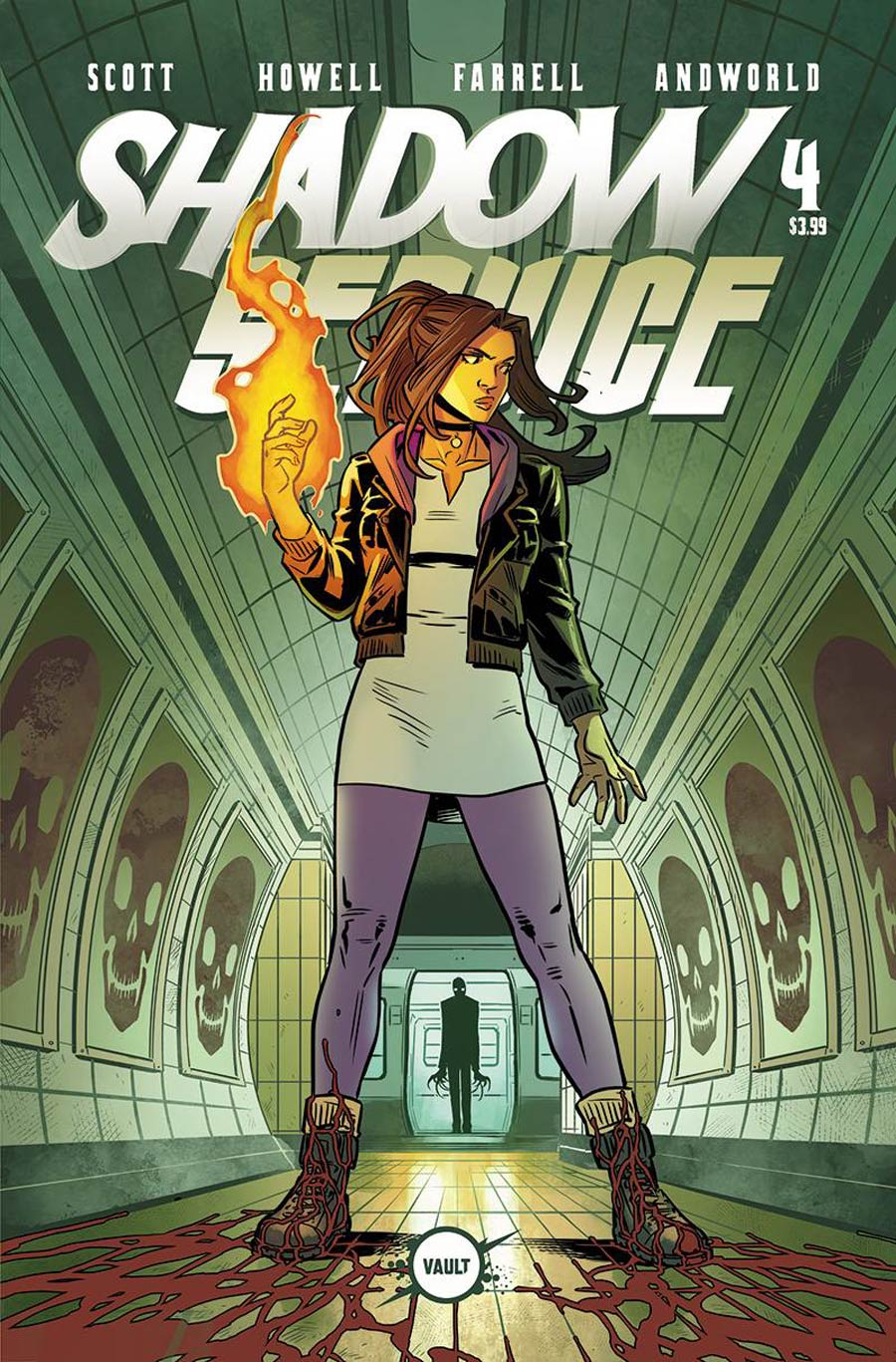 Shadow Service #4 Cover B Variant Rebekah Isaacs Cover