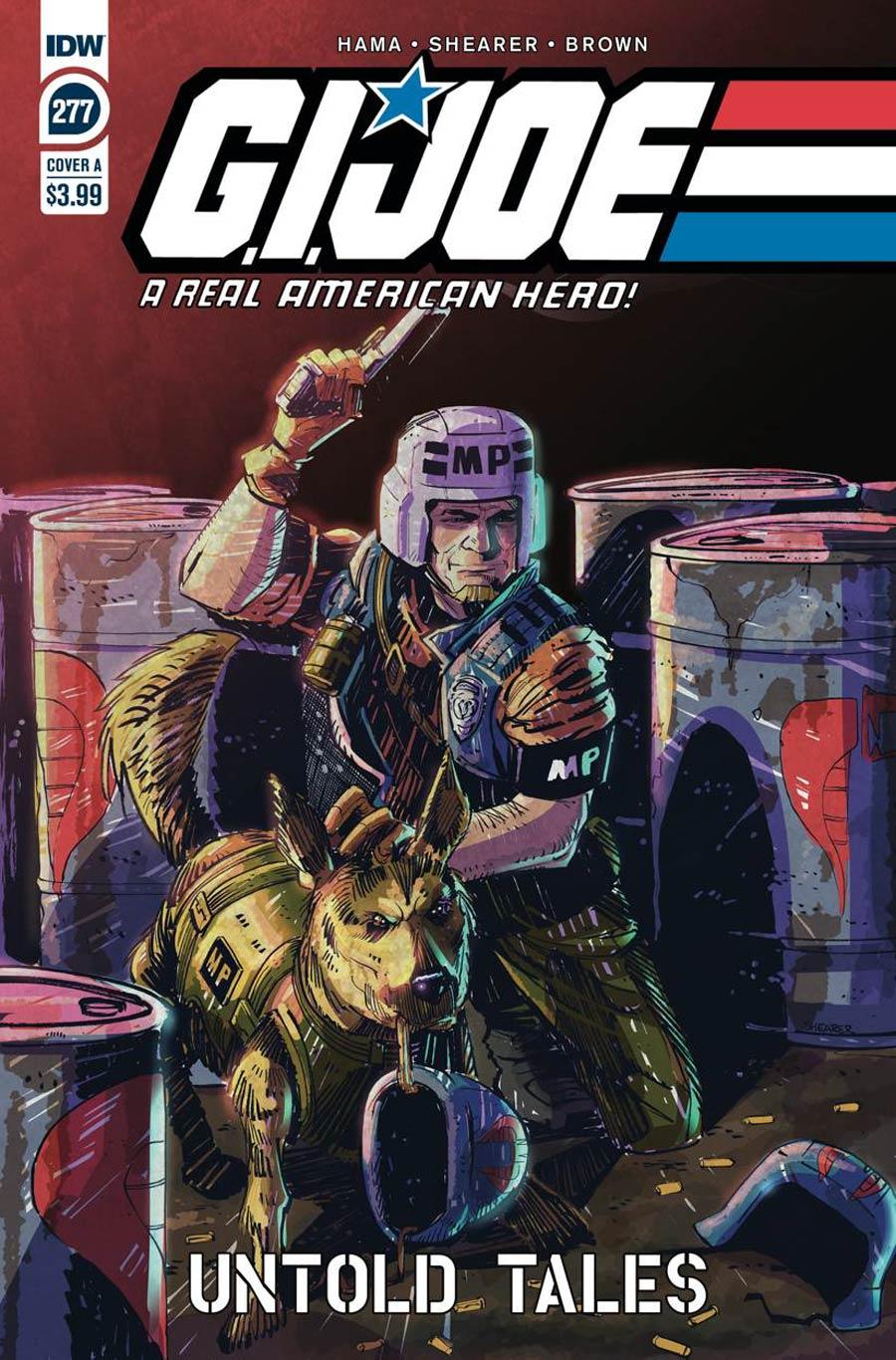 GI Joe A Real American Hero #277 Cover A Regular Brian Shearer Cover
