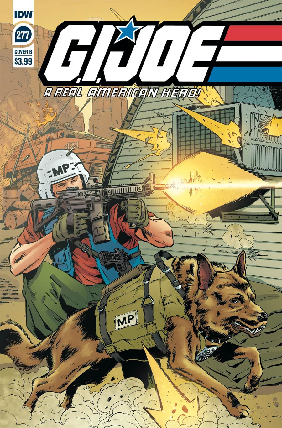 GI Joe A Real American Hero #277 Cover B Variant SL Gallant Cover