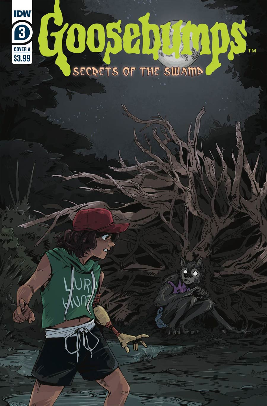 Goosebumps Secrets Of The Swamp #3 Cover A Regular Bill Underwood Cover