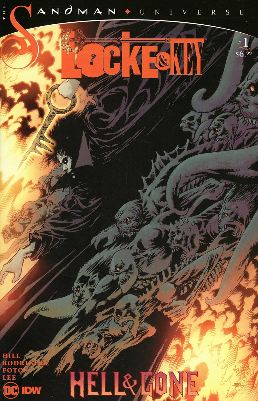 Locke & Key Sandman Hell & Gone #1 Cover C Variant Kelley Jones Cover