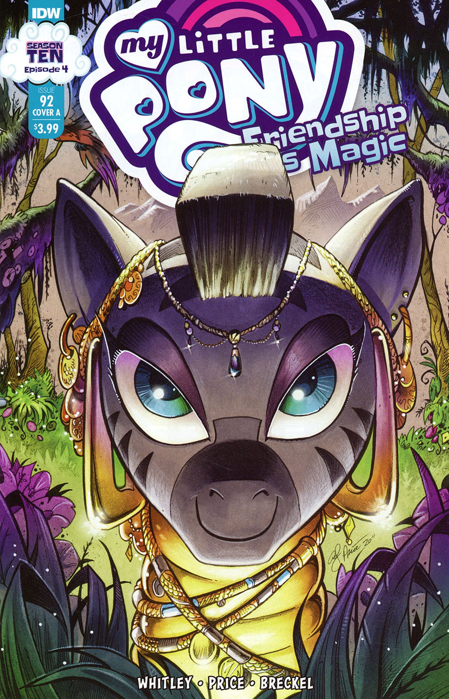 My Little Pony Friendship Is Magic #92 Cover A Regular Andy Price Cover