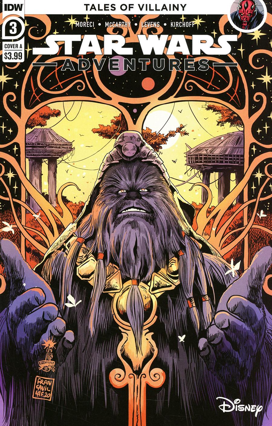 Star Wars Adventures Vol 2 #3 Cover A Regular Francesco Francavilla Cover