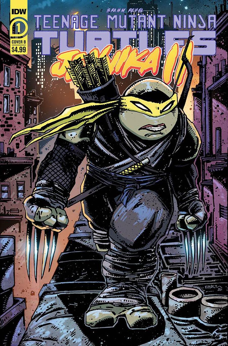 Teenage Mutant Ninja Turtles Jennika II #1 Cover B Variant Kevin Eastman Cover