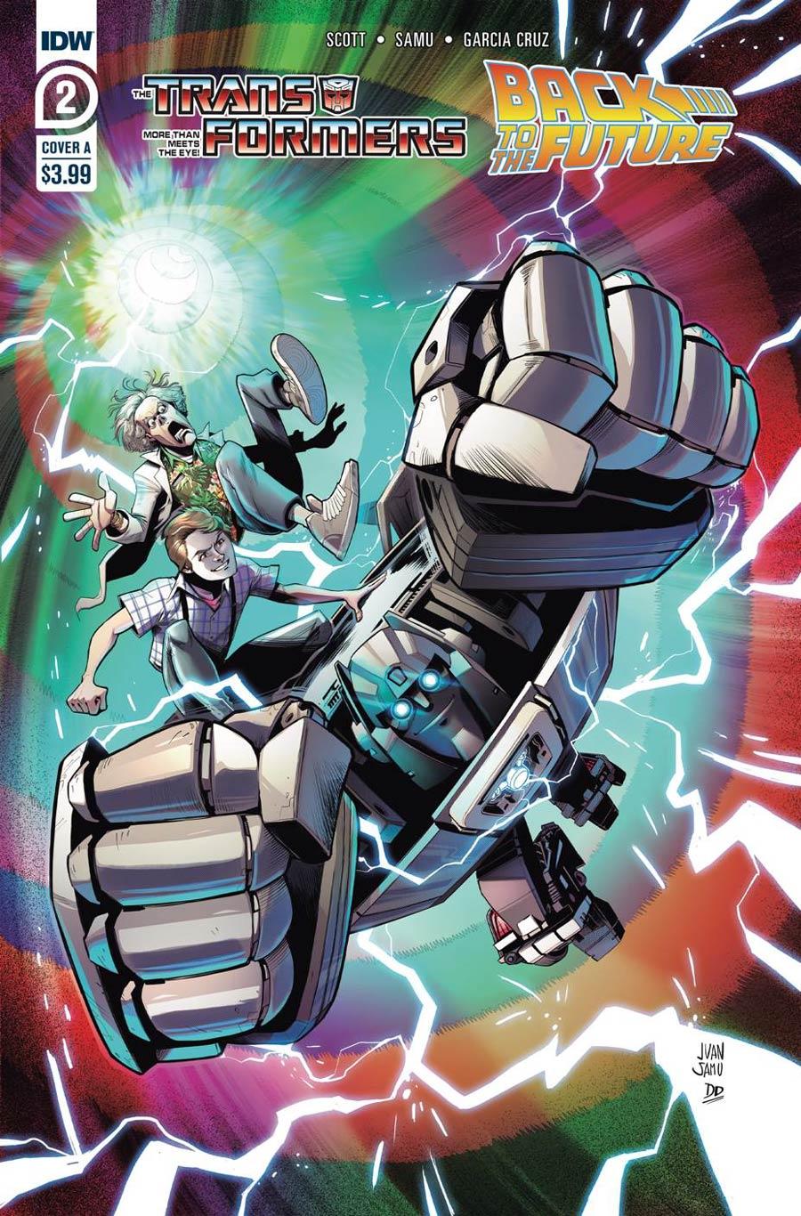 Transformers Back To The Future #2 Cover A Regular Juan Samu Cover